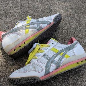 Onitsuka Tiger Pink & White Fashion Sneakers 6M
